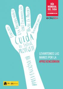 Cartel oficial del Día Mundial del SIDA 2016