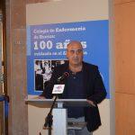 Roberto Cerdán, director del Centro Ibercaja Huesca Palacio Villahermosa, en su intervención durante la inauguración