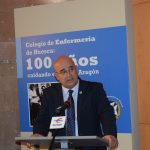 Juan Carlos Galindo durante su intervención en el acto de inauguración. I.C.
