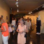 Público visita la exposición tras su inauguración. I.C.