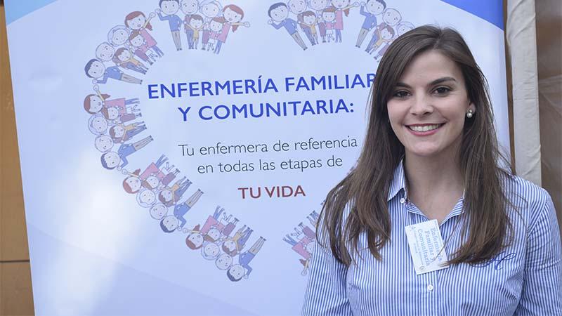 Beatriz Sánchez en la jornada del pasado sábado