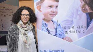 Amparo Castillo en la jornada de especialidades
