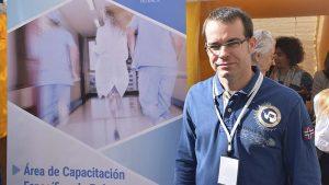 Juanjo Cazcarra el pasado sábado en la jornada de especialidades