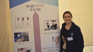 Alejandra Cortizo en la jornada de especialidades