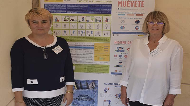 Somada y López en la jornada del pasado 21 de octubre