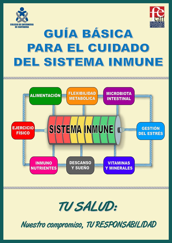 Libro Guía básica para el cuidado del sistema inmune